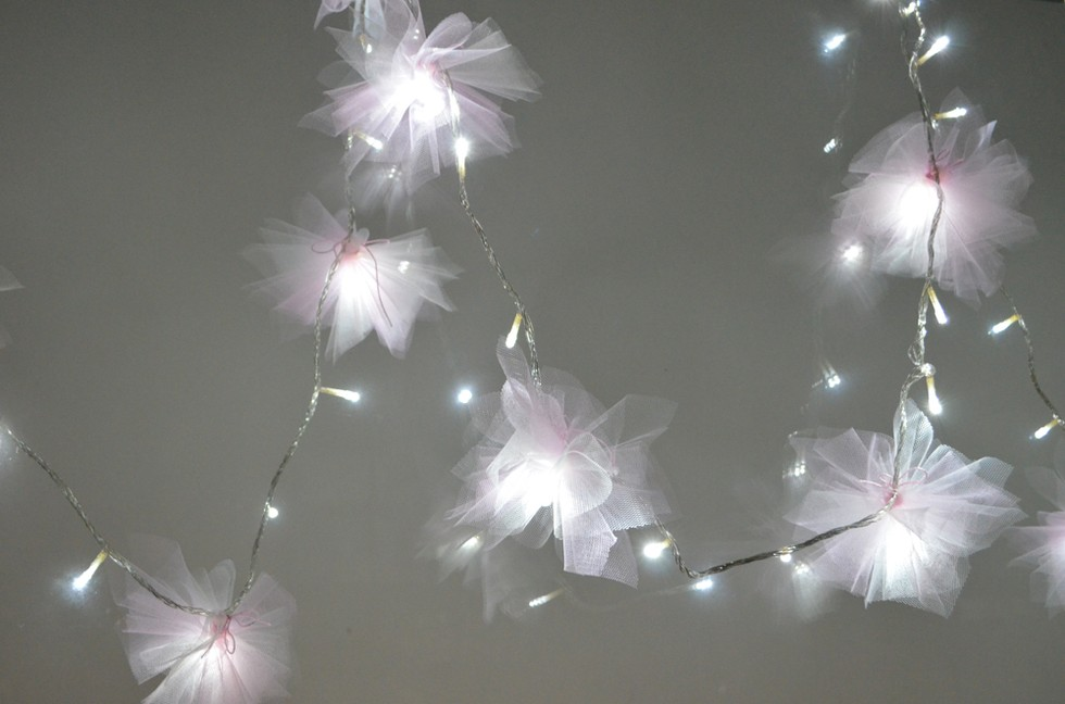 how to make a fairy light backdrop