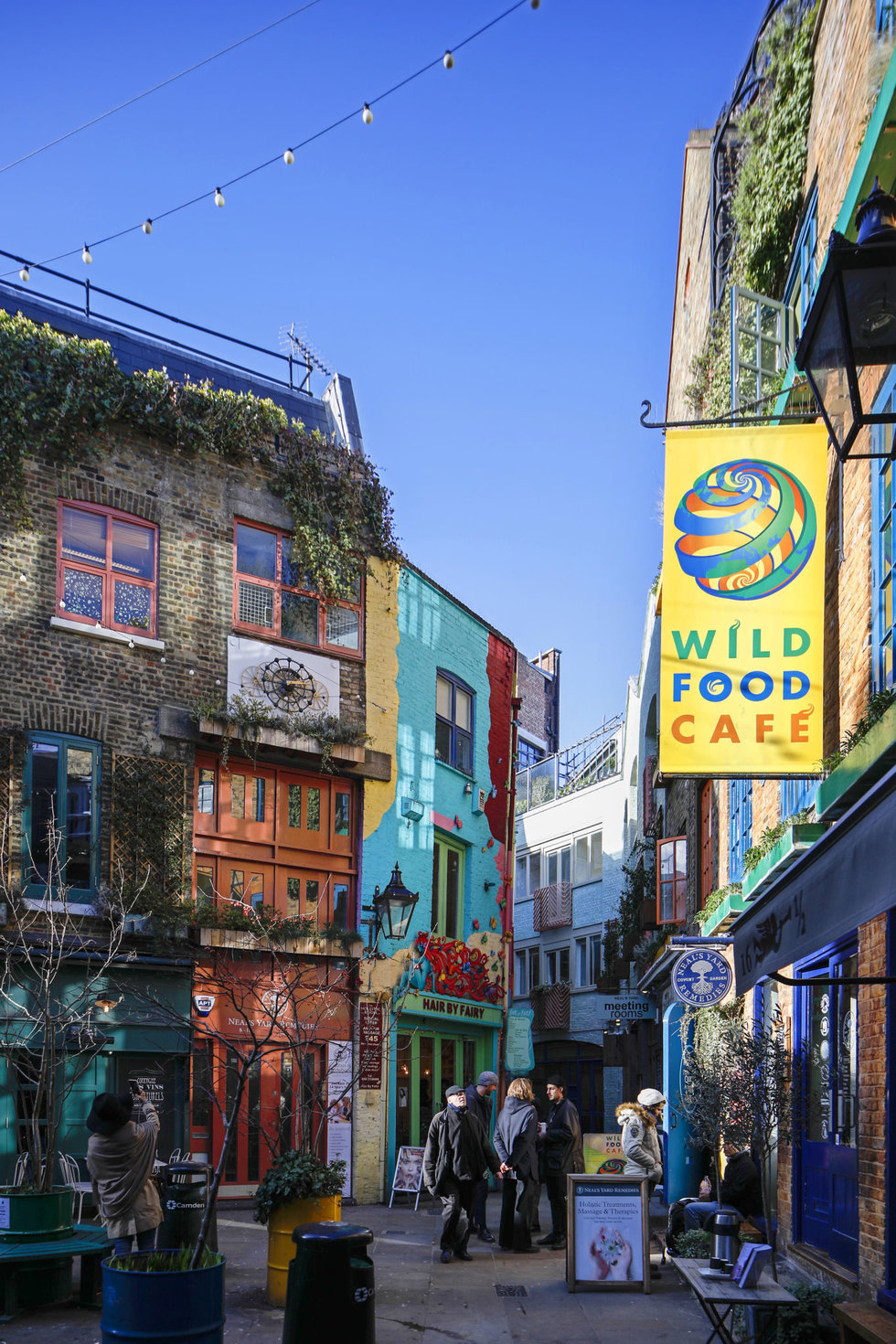 Neal's Yard, a colorful bohemian alley in Covent Garden