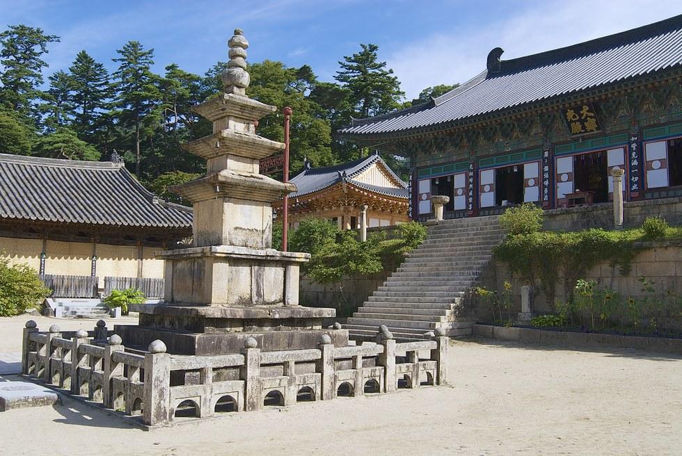 Jogyesa Temple in Seoul.