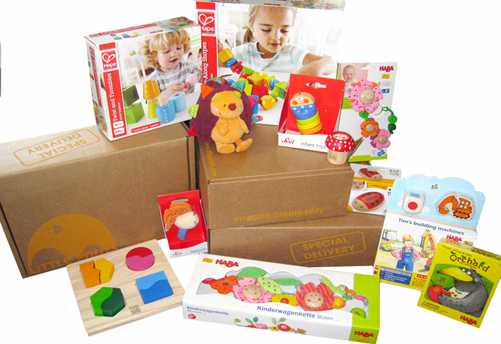 Little Pnuts -- toy subscription boxes
