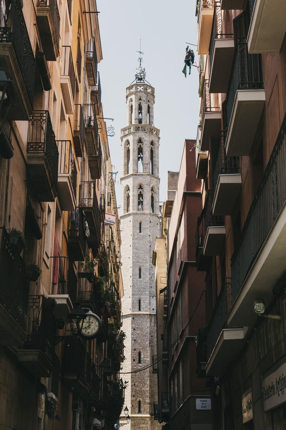 The Gothic Basílica de Santa Maria del Mar