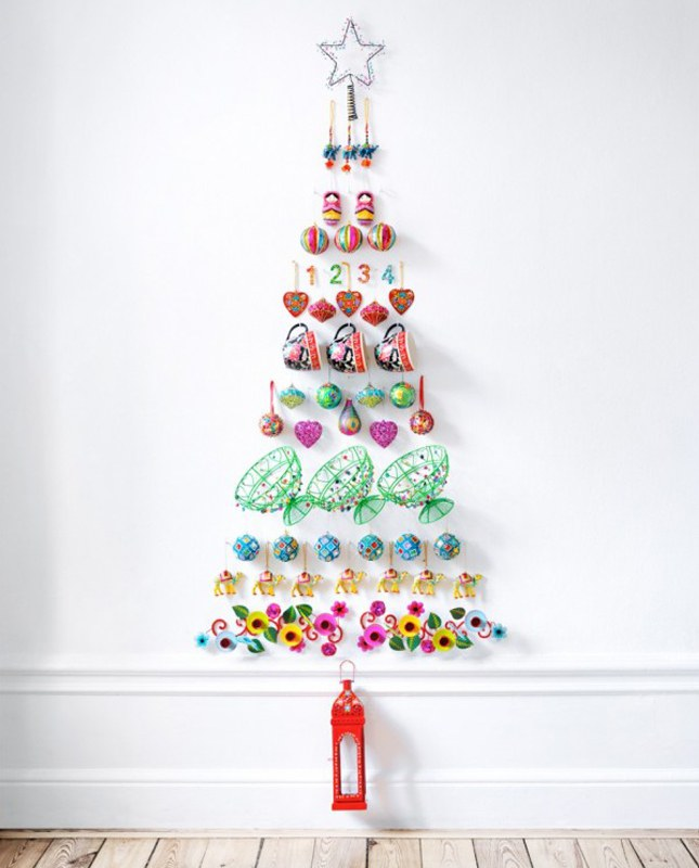 60 Best Christmas Tree Decorating Ideas How To Decorate A With  - Decorate Christmas Tree Without Ornaments