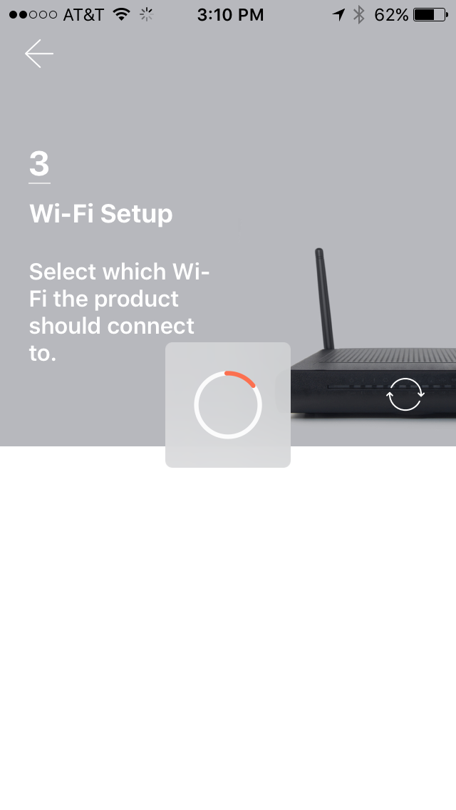 Connect your SmartCam to your home Wi-Fi.