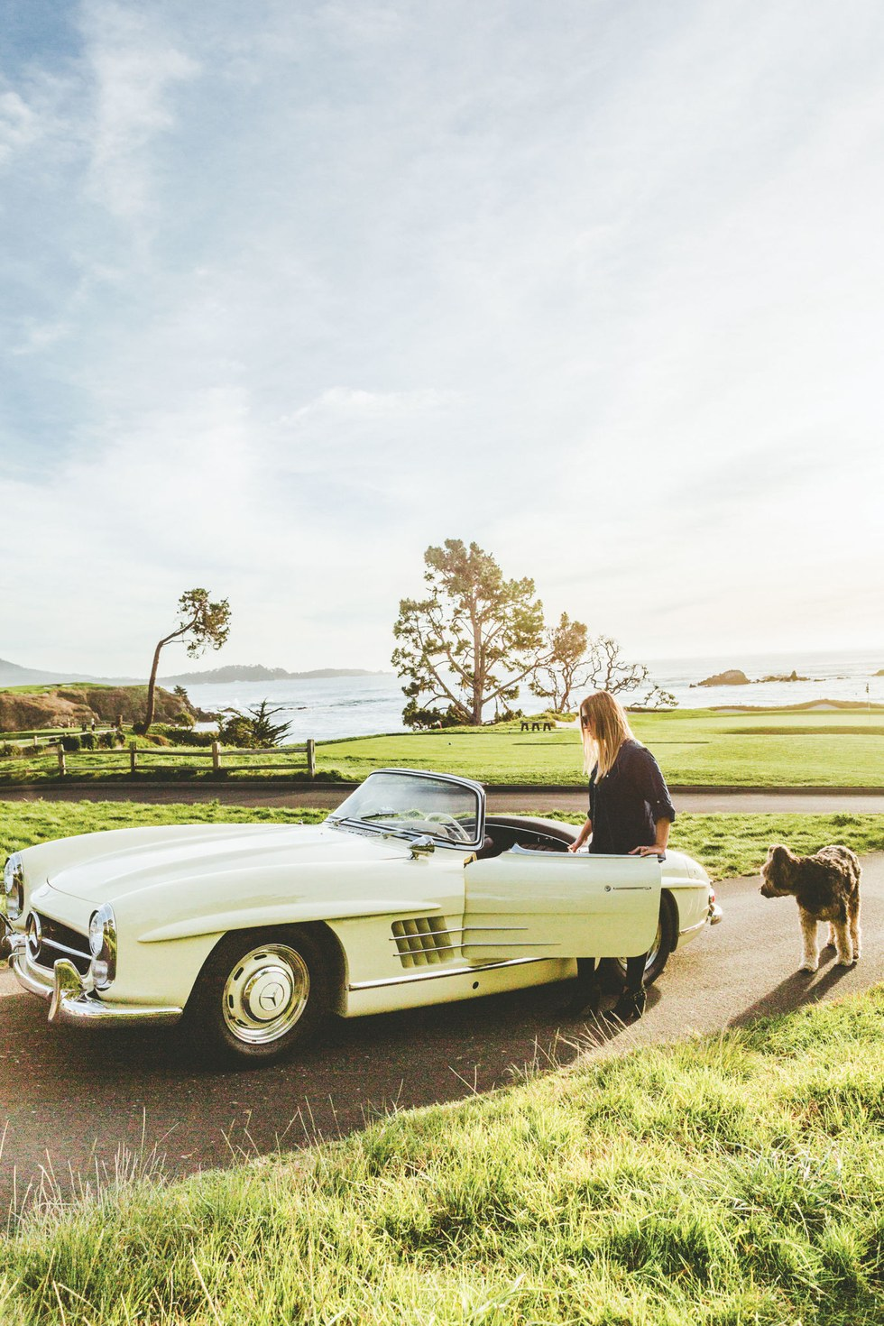 A pit stop at Pebble Beach