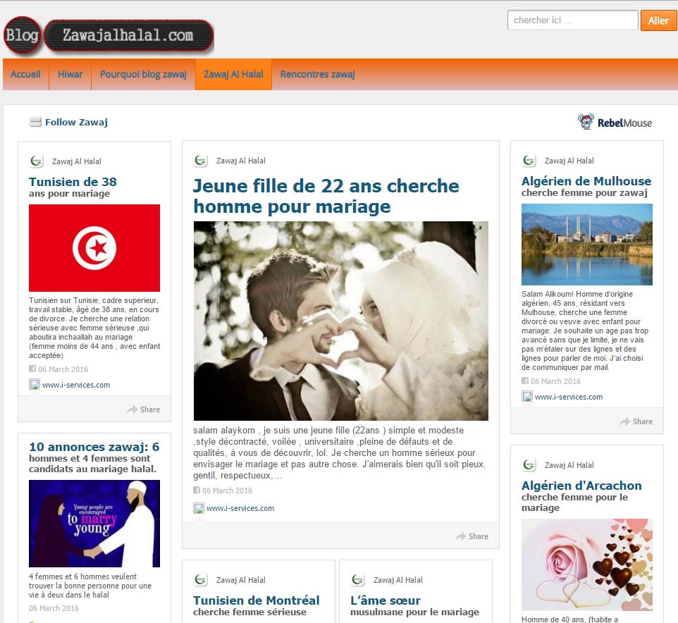 je cherche un homme pour mariage halal en belgique