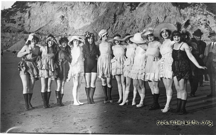 Ocean Beach in the 1920s