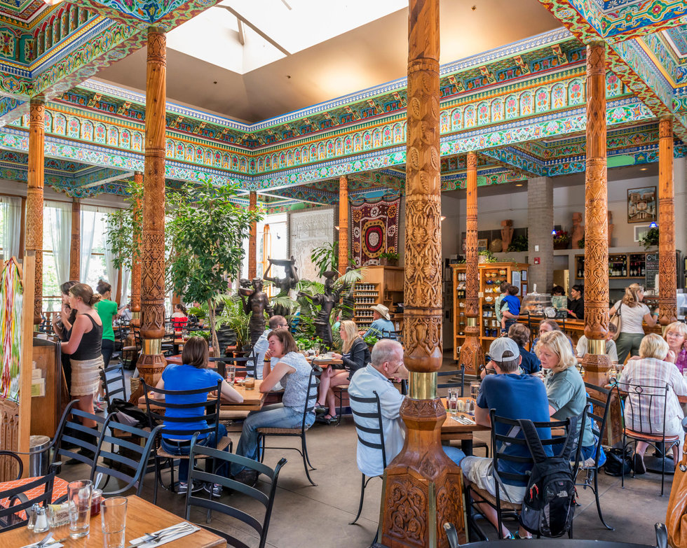 Dushanbe Teahouse in Boulder, Colorado