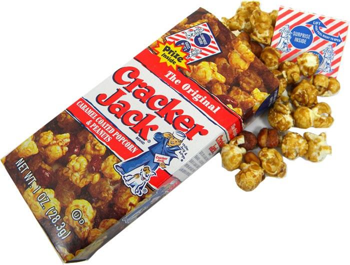 Cracker Jack Cake Pop