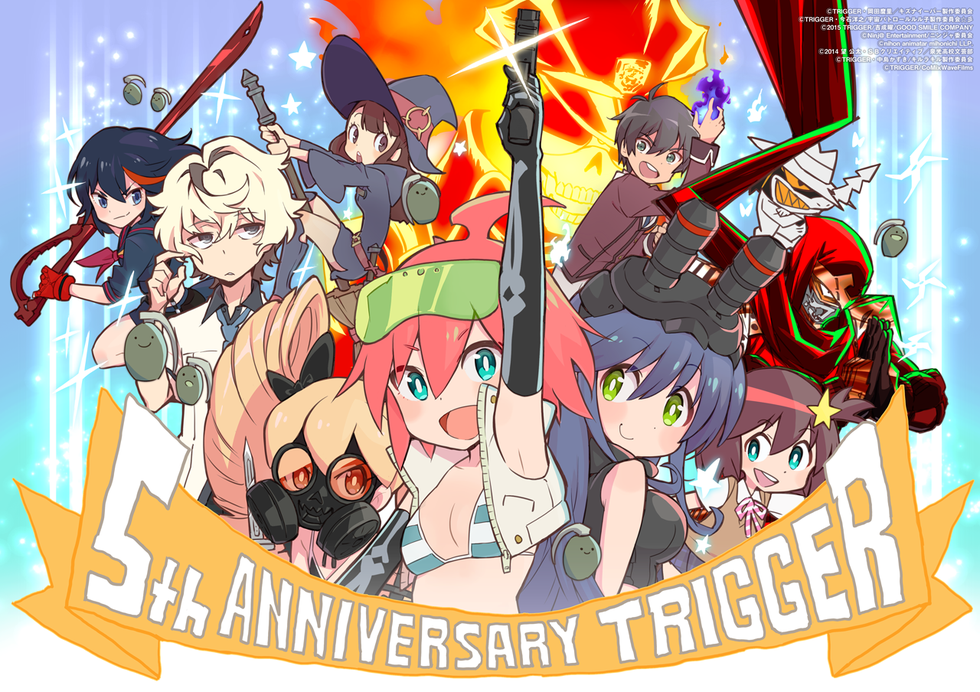 Why Studio Trigger Is One Of The Best New Anime Producers