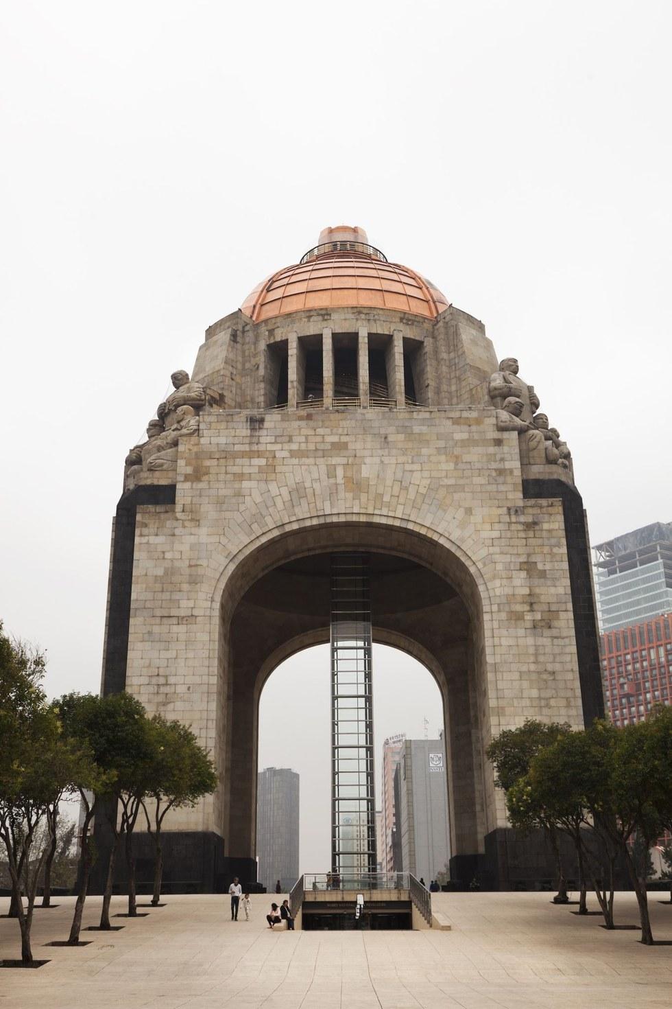 The Monumento a la Revolución