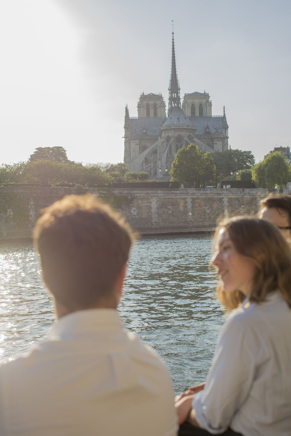 Notre Dame from across the Seine
