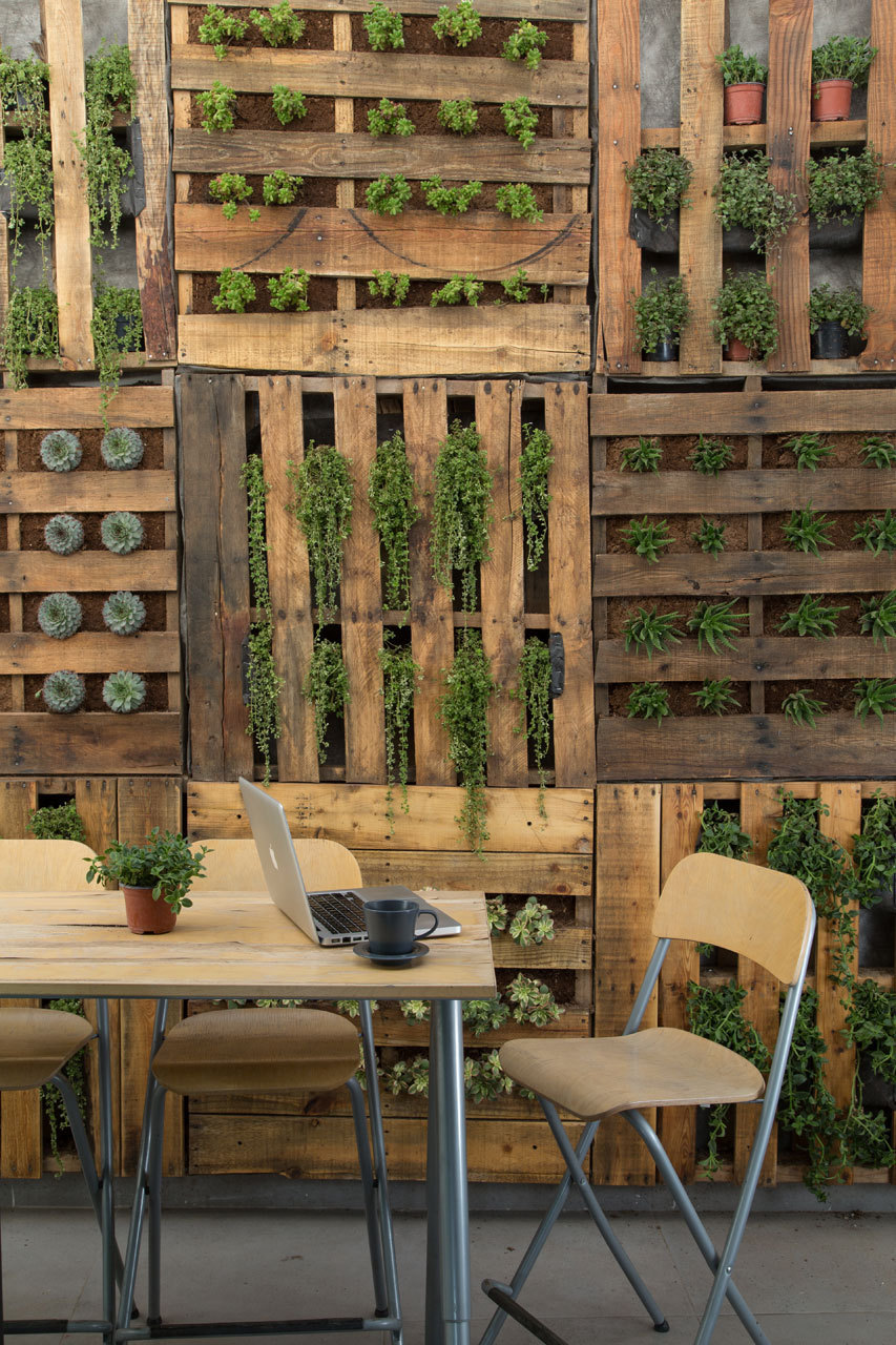 Gardening how to vertical gardens and garden walls the for Diy vertical garden wall