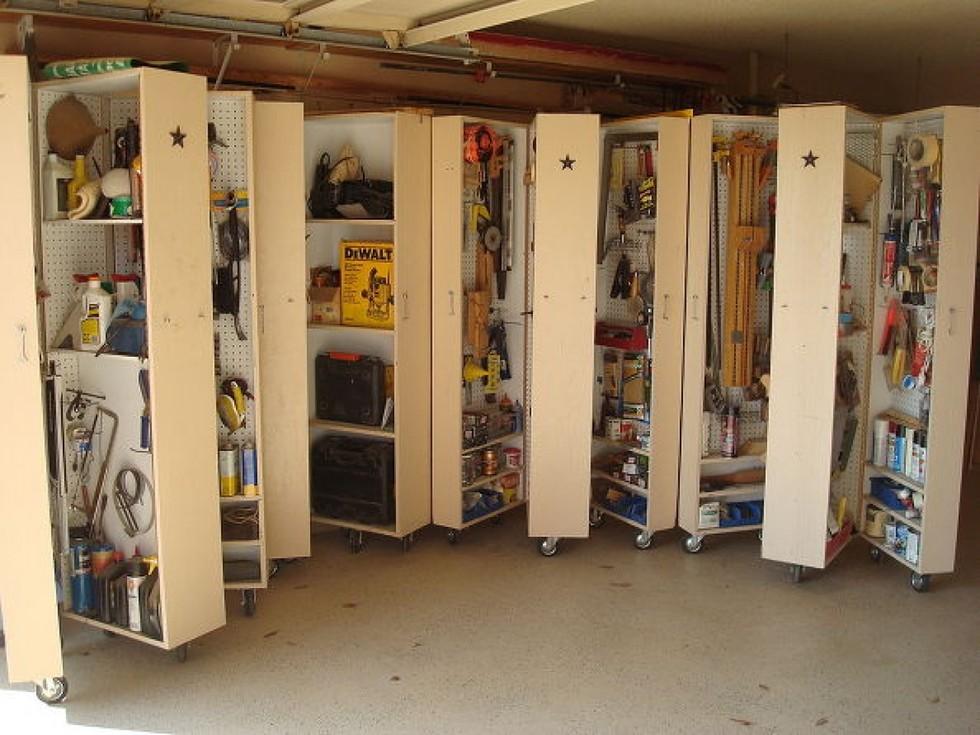 zwanzig raffinierte wege deine garage in eine hochburg der ordnung zu verwandeln diy projekte. Black Bedroom Furniture Sets. Home Design Ideas