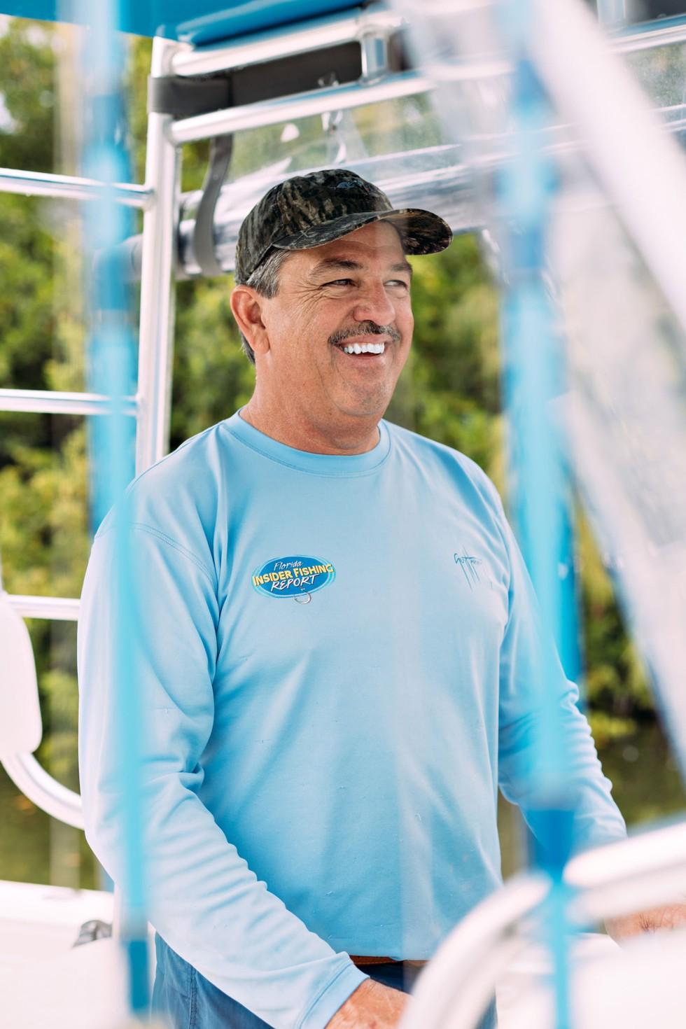 Randy Towe, fishing guide