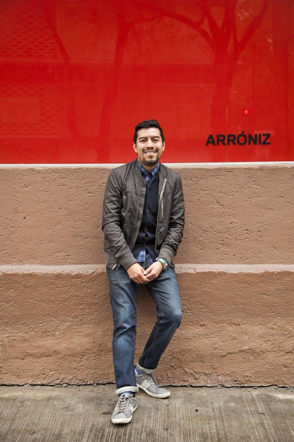 Gustavo Arróniz, gallerist and owner, Arróniz Arte Contemporáneo