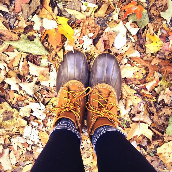 2. Your closet consists of fringe booties in two (or more) colors, LL Bean Boots, riding boots, Hunter rain boots, white Converse or Tory Burch flats.
