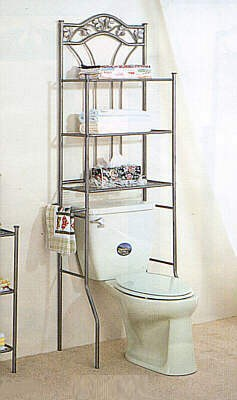 Over The Toilet Bathroom Organizers stressless, mess-less bathroom organizing