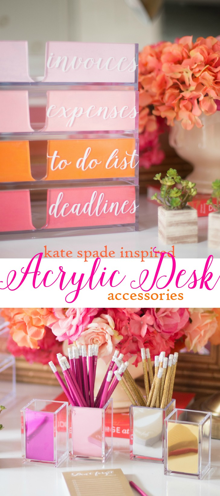 DIY Desk Organizers