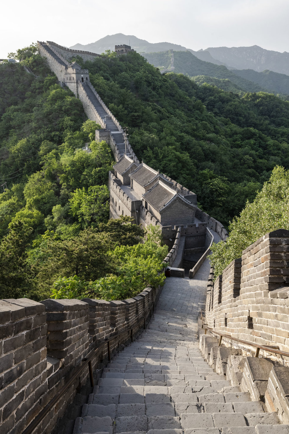 Three Perfect Days In Beijing Peak Tram Sky Pass Roundtrip Ride Terrace Anak 3 11 A Section Of The Great Wall Built More Than 400 Years Ago To Keep Out