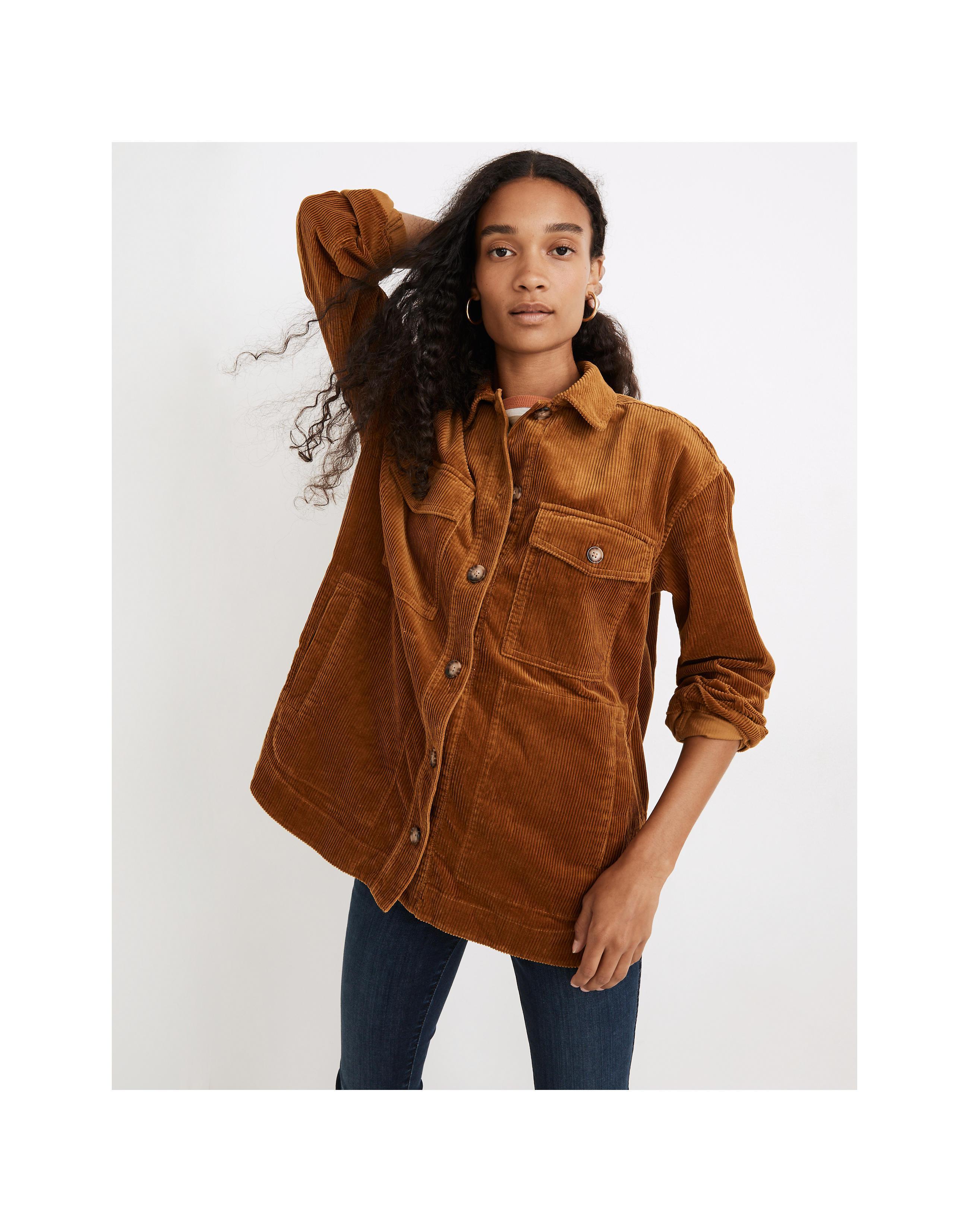 Madewell Corduroy Yorkway Shirt-Jacket