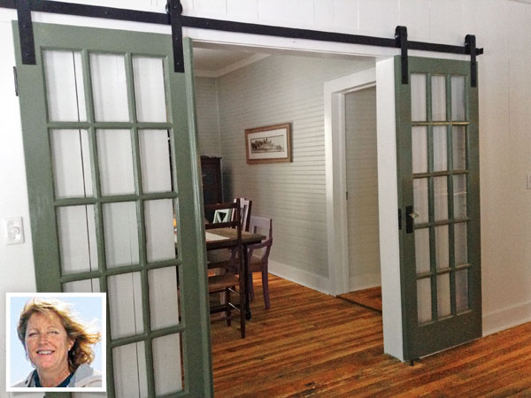 Everything you need to know barn doors the snug for Barn door in house