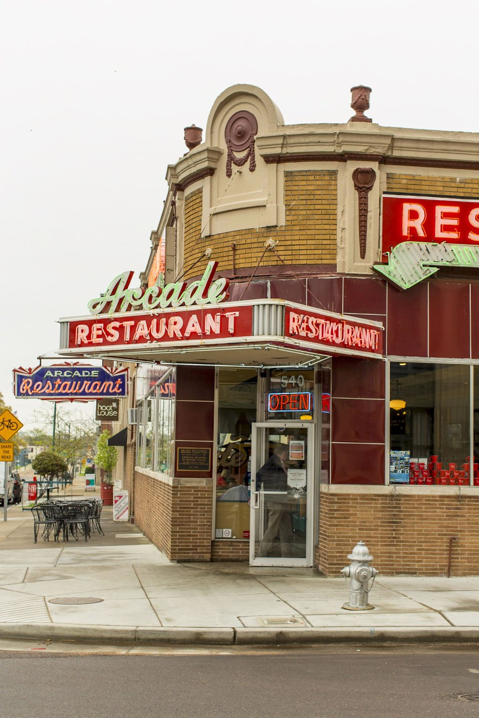 The Arcade, Memphis' oldest restaurant