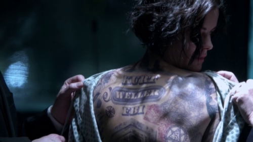 Everything you need to know about nbc 39 s blindspot for Can fbi agents have tattoos