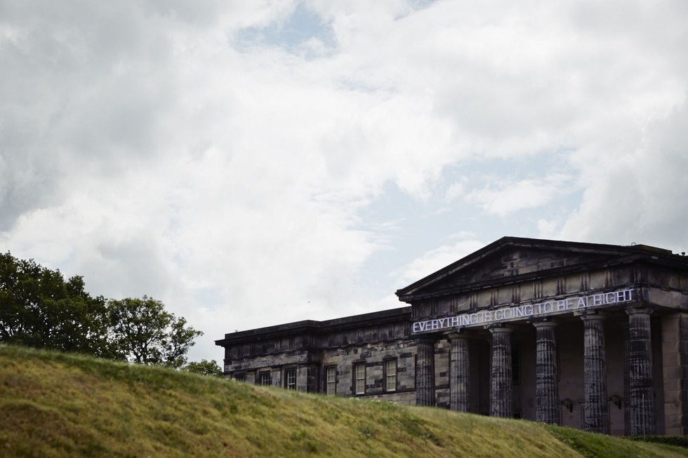 The neoclassical Scottish National Gallery holds an array of masterworks