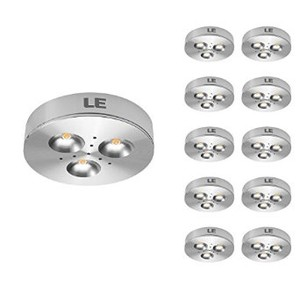 le brightest led under cabinet lighting puck lights 12vdc 25w halogen replacement 240lm warm white under cabinet lighting pack of 10 units best cabinet lighting