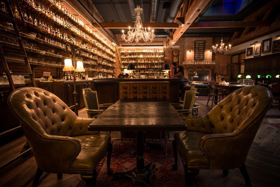 The Multnomah Whiskey Library