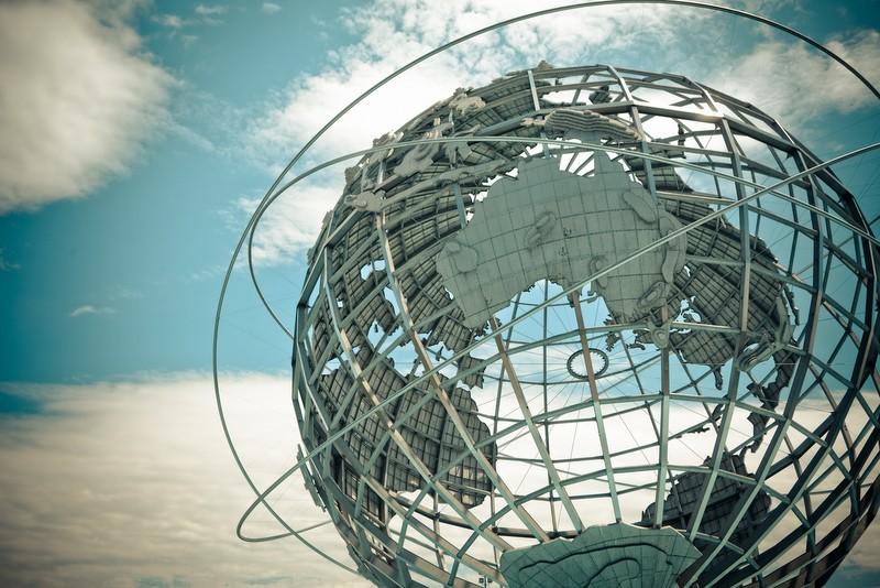 Unisphere Sculpture in New York