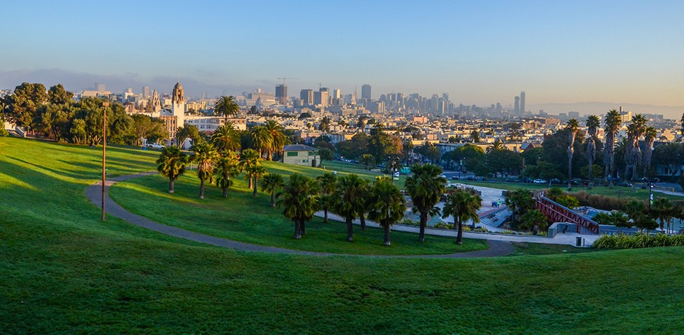 Dolores Park in San Francisco