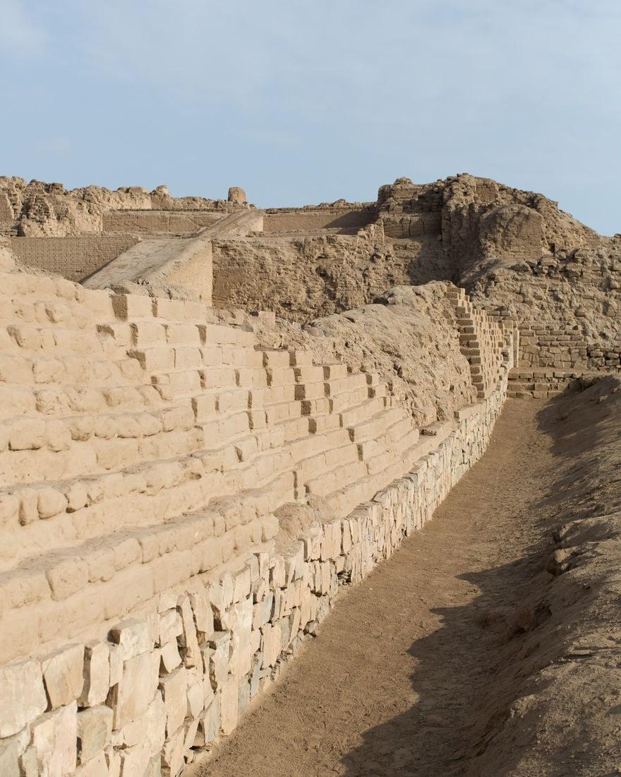 The Pachacamac ruins
