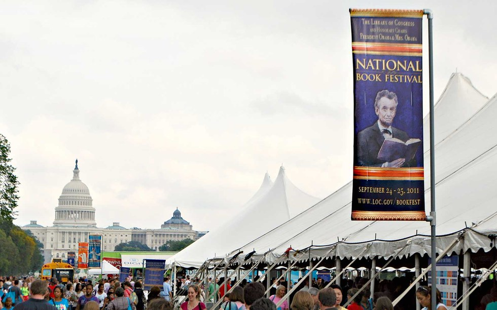 The National Book Festival in Washington D.C.