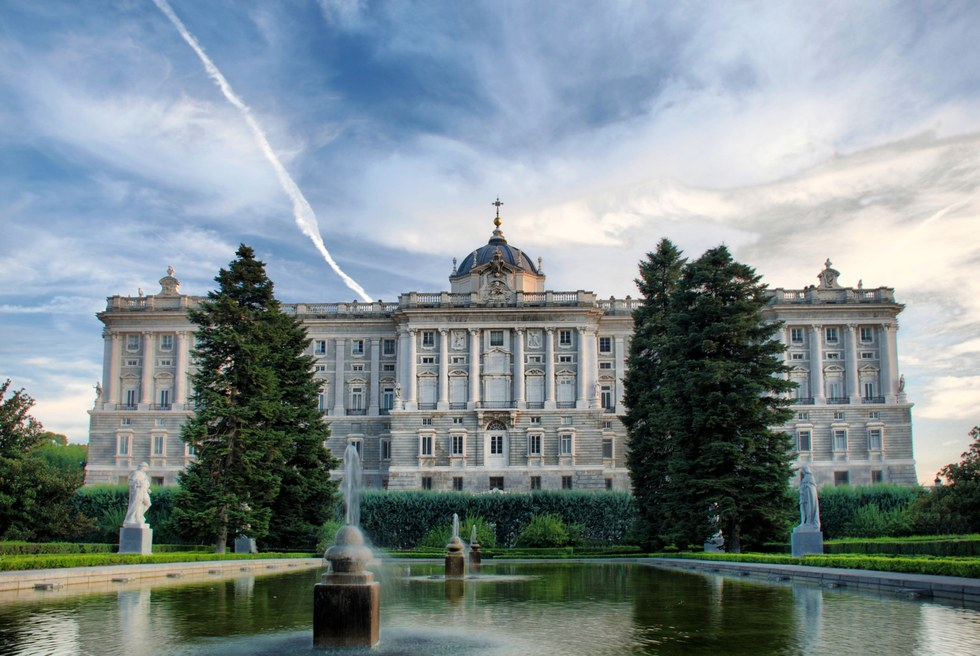 Madrid's Royal Palace stands as a testament to inordinate wealth, limitless power and blinding interior design