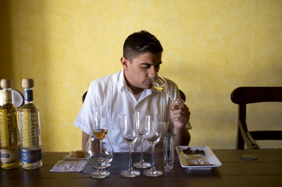Juan Pablo Ram\u00edrez, guide, Jose Cuervo