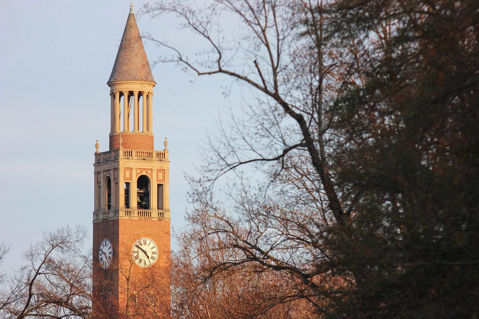 Morehead-Patterson Bell Tower in Chapel Hill