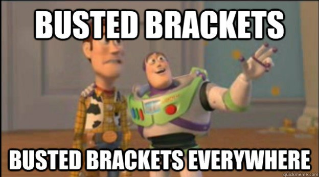 4 Reasons You Shouldn't Be Upset That Your Bracket Is Busted