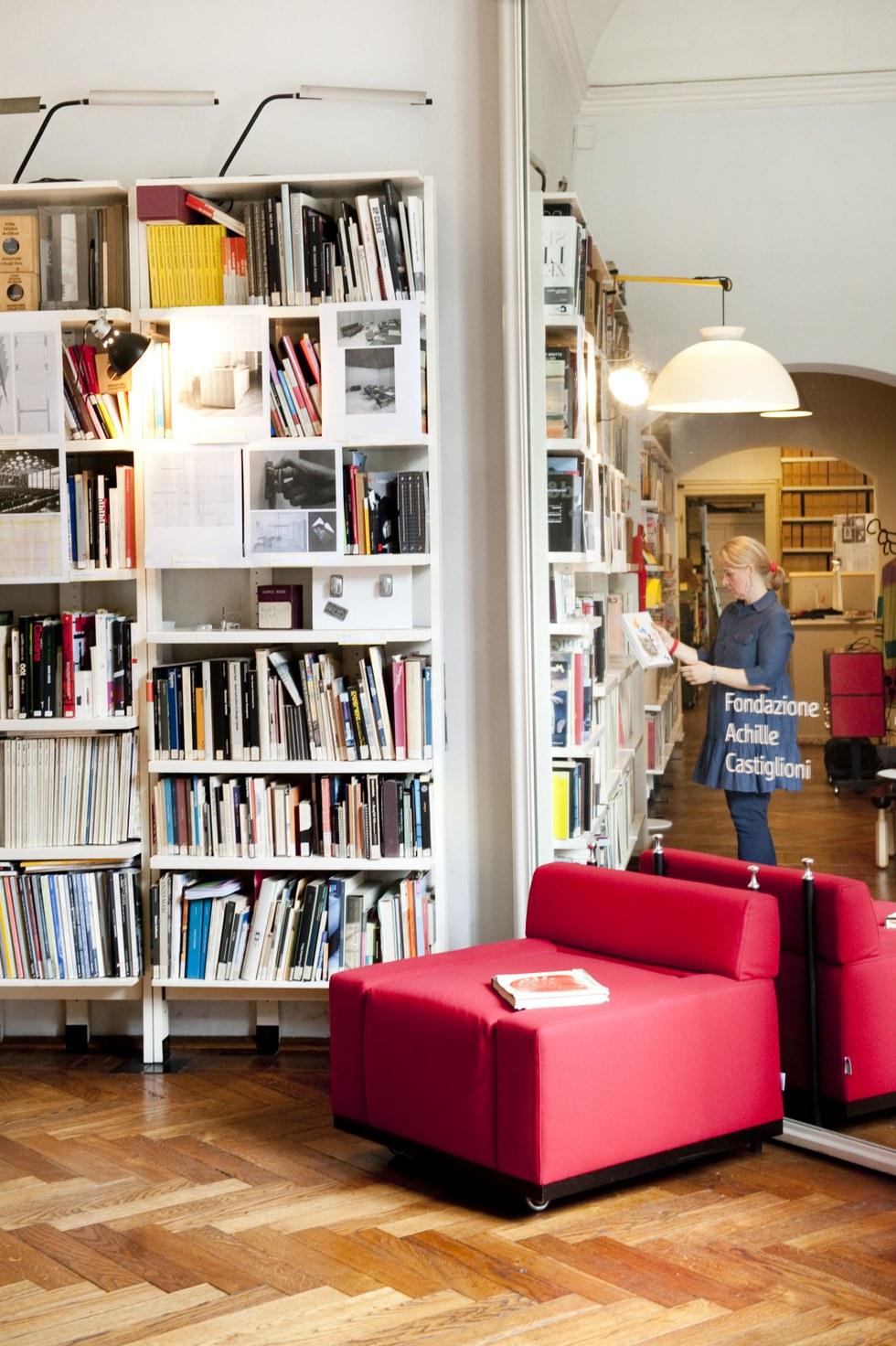Modern designs at the Museo Achille Castiglioni