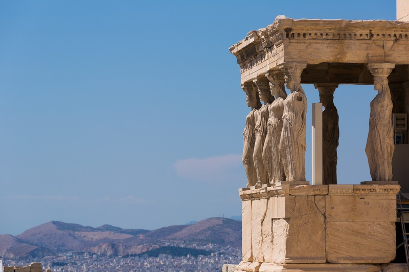 Monuments in Athens, Greece
