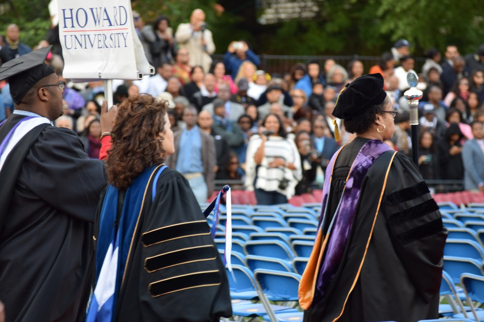 the mecca runway a photo essay from howard university graduation