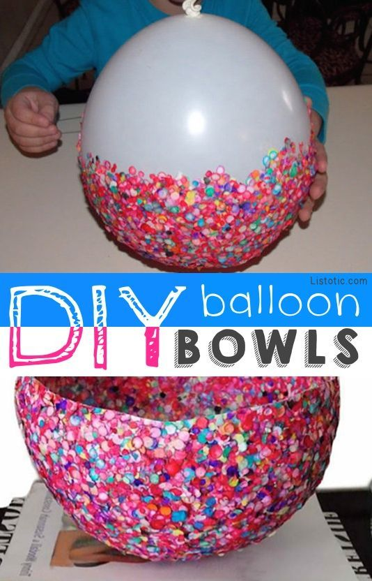 3 amazing ways to use balloons in your diy adventures this for Glitter balloon bowl