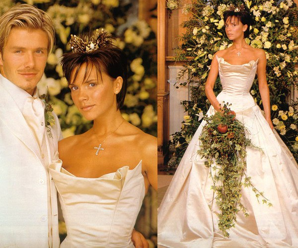 28 Of The Most Beautiful Celebrity Brides Ever