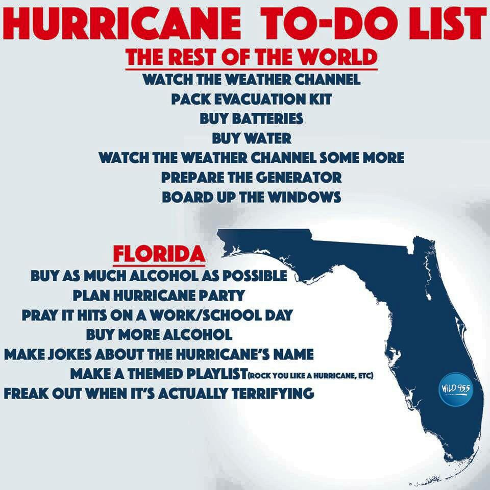 How To Throw A Successful Hurricane Party
