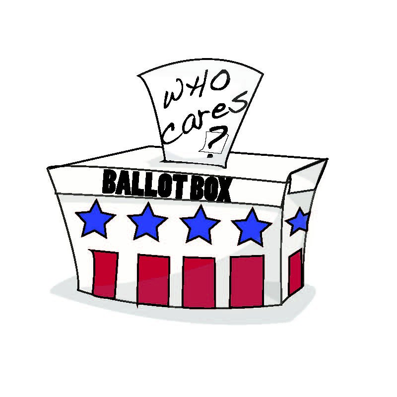Image result for clipart ballot box apathy