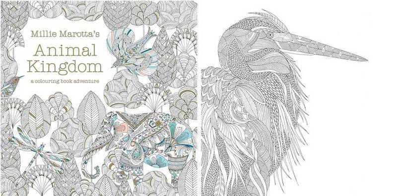 This Book Is Filled With Intricately Detailed Animals To Color In Including Elephants Dragonflies Birds And Fish