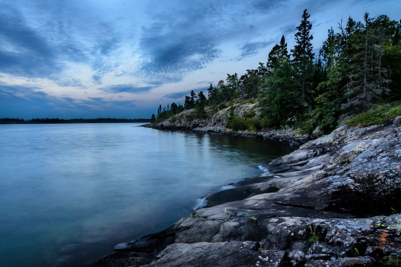 Isle Royale National Park in Michigan