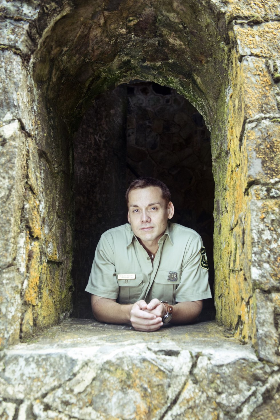 Raymond Feliciano, archaeologist, El Yunque National Forest