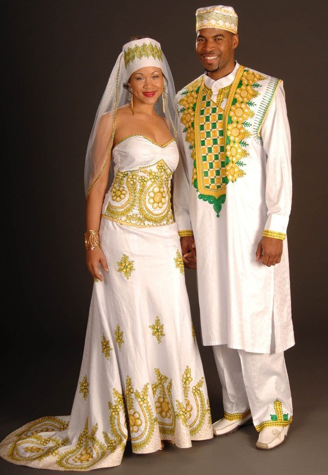 5 traditional wedding dresses from around the world for Traditional ethiopian wedding dresses