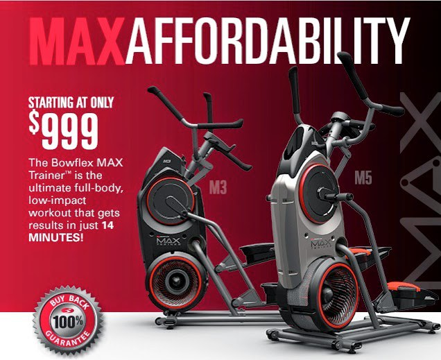 Max trainer better than an elliptical new as seen on tv